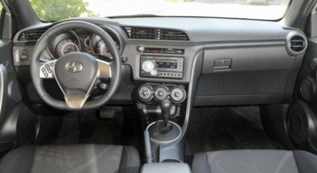 2011 Scion tC interior