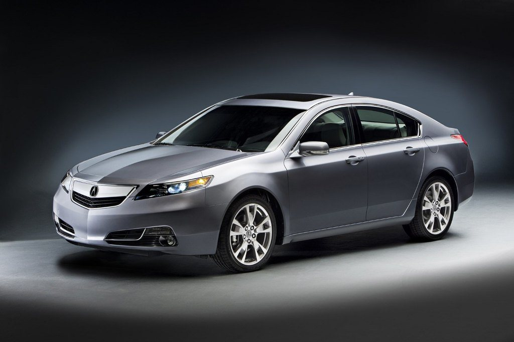 2012AcuraTLFrontView