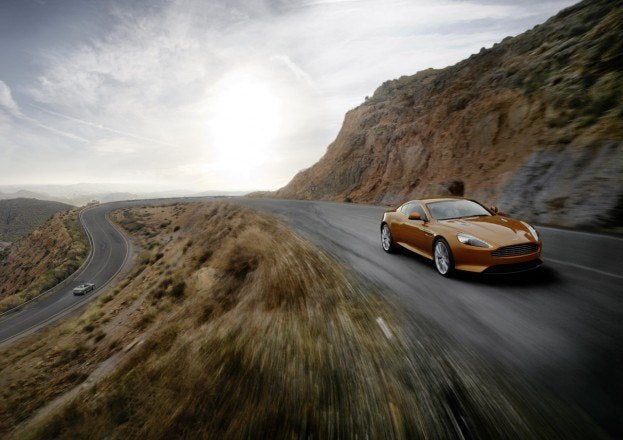 Aston Martin Virage Front Motion