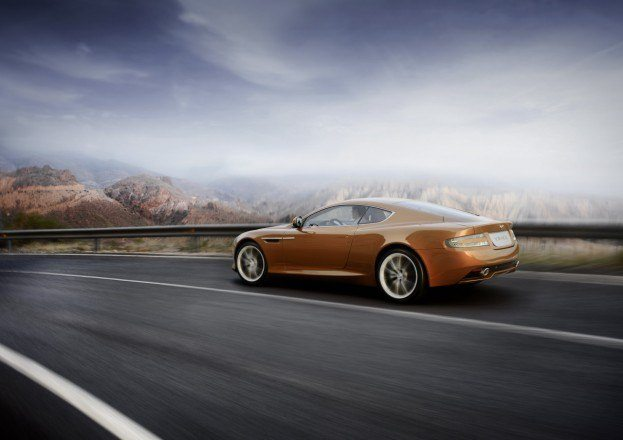 Aston Martin Virage Rear Motion