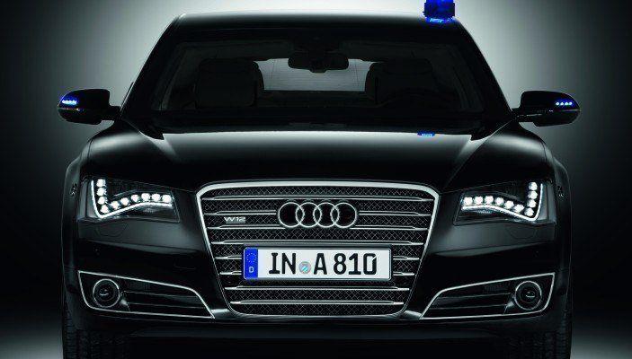 Audi A8 L Security Debuts