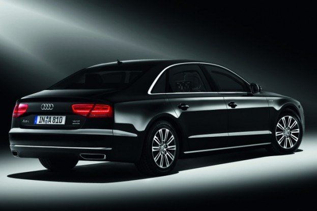 AudiA8LSecurityRear