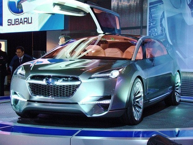 2011 Canadian International Auto Show 850 Subaru tourer concept