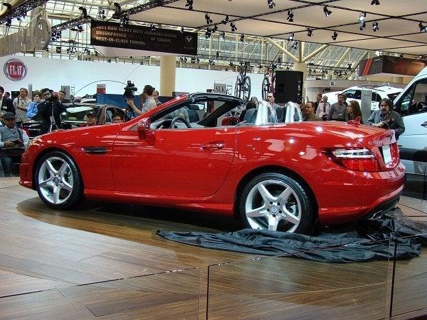 2011 Canadian International Auto Show MB SLK
