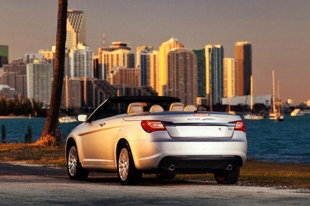 Chrysler200ConvertibleRearView