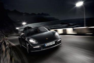 PorscheBoxsterSBlackEditionFrontMotion