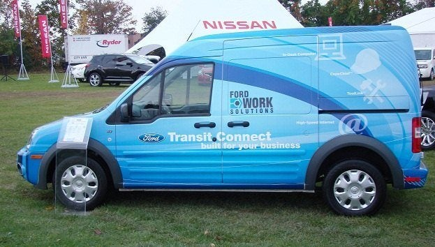 ford transit connect 2010 by chris nagy