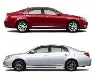 Lexus & Toyota sides