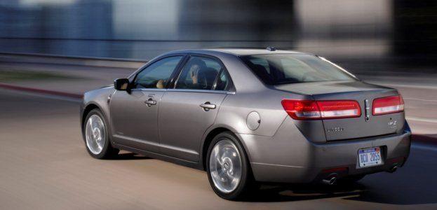 2011 Lincoln MKZ Hybrid rear