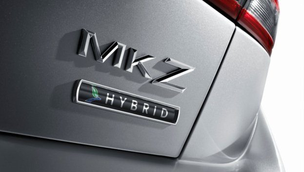2011 Lincoln MKZ Hybrid badge