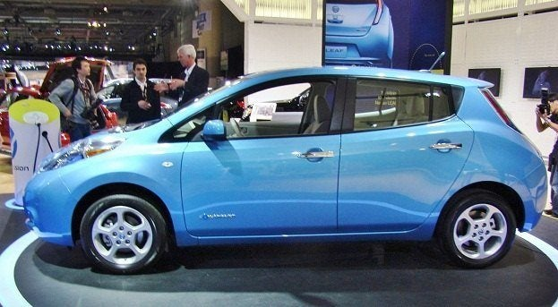 Chris Nagy 2011 Canadian International Auto Show nissan leaf