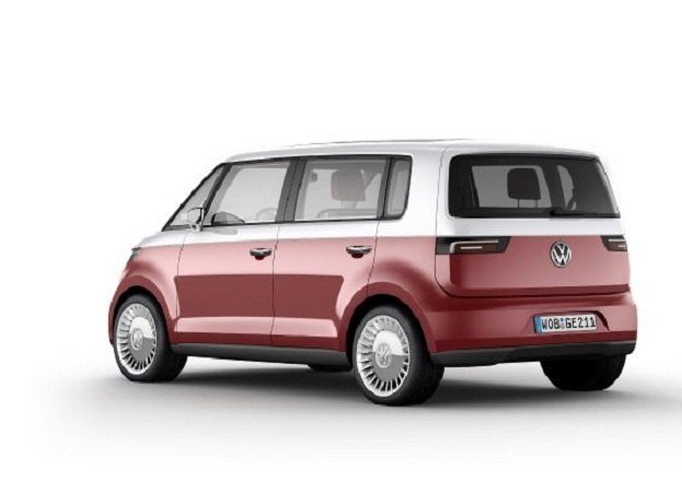 VW Channels Microbus Past in Bulli Concept 34