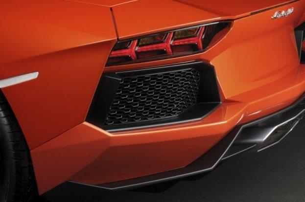 Lamborghini Aventador LP-700-4 rear vent