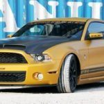 The Midas Touch: GeigerCars Shelby GT640 Golden Snake