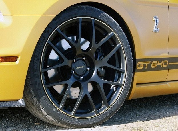 GeigerCars Shelby GT640 Golden Snake wheel
