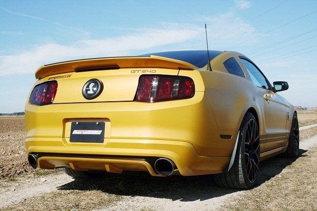 GeigerCars Shelby GT640 Golden Snake rear
