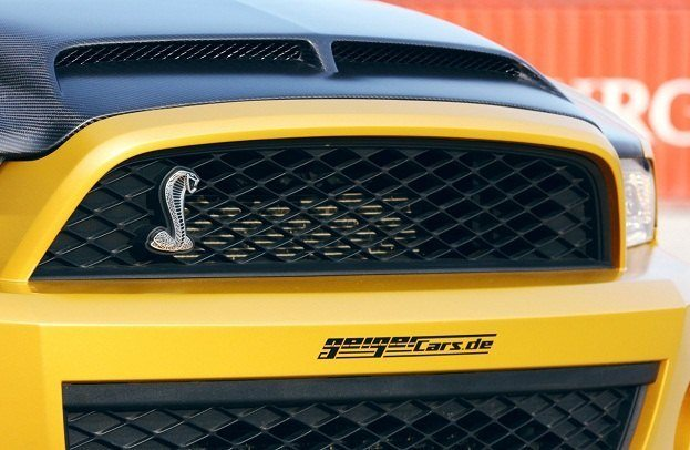 GeigerCars Shelby GT640 Golden Snake front