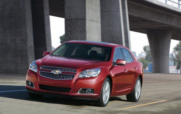 2013ChevyMalibuFrontSideInMotion