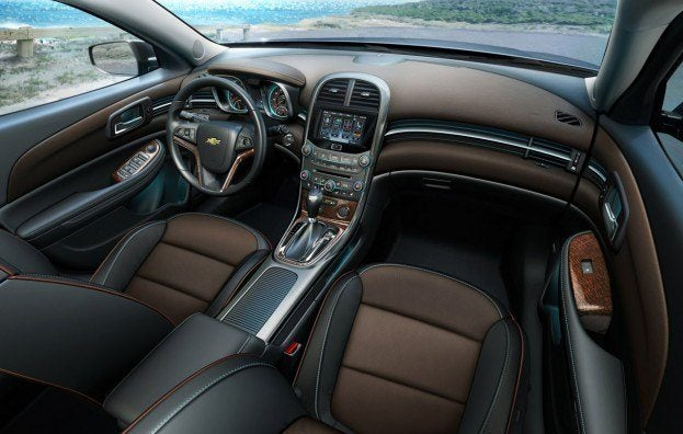 2013 Chevy Malibu Debuts At Shanghai