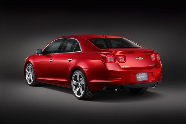 2013ChevyMalibuRearAngle