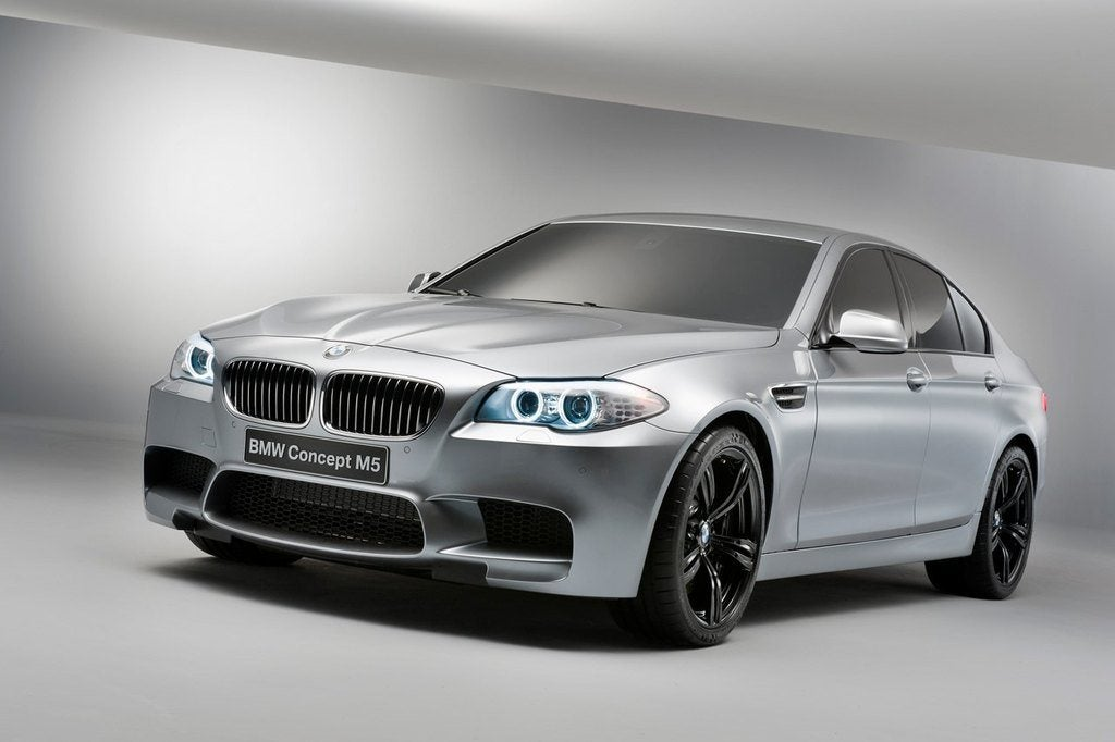BMWM5ConceptFrontView