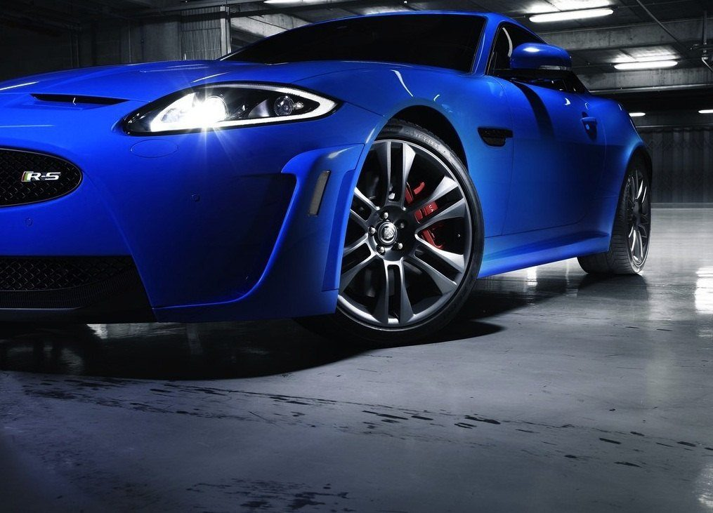 JaguarXKR SFrontViewPartial