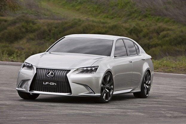 The Lexus LF-Gh Hybrid Concept Car Exposed 20