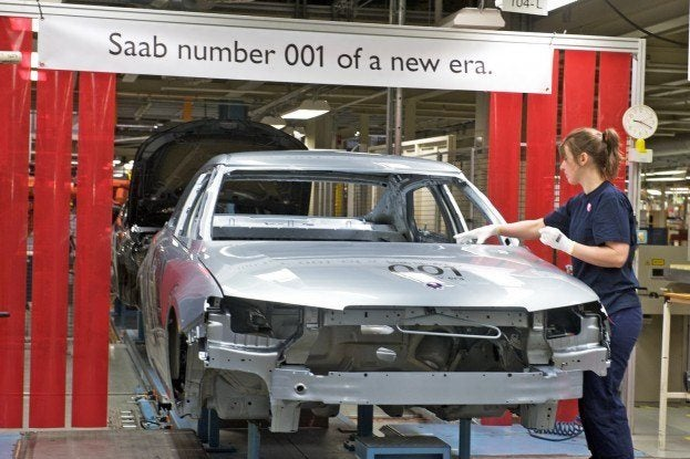 Saab9 5ProductionLine