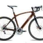 audi duo road hardwood bicycle