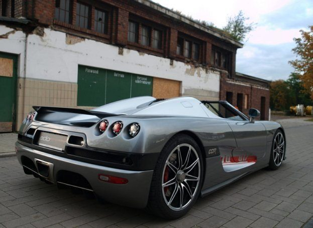 edo Koenigsegg Evolution CCR rear