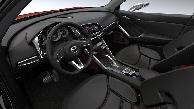 Mazda Minagi Concept S Becoming The Cx 5 For 2012
