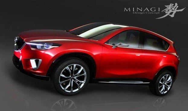 Mazda Minagi Concept's Becoming the CX-5 for 2012 38