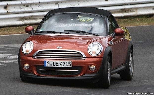 2012 mini roadster spy shots 100350272 l