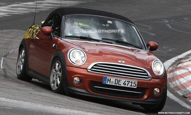 2012 mini roadster spy shots 100350273 l