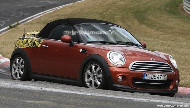 2012 mini roadster spy shots 100350274 l