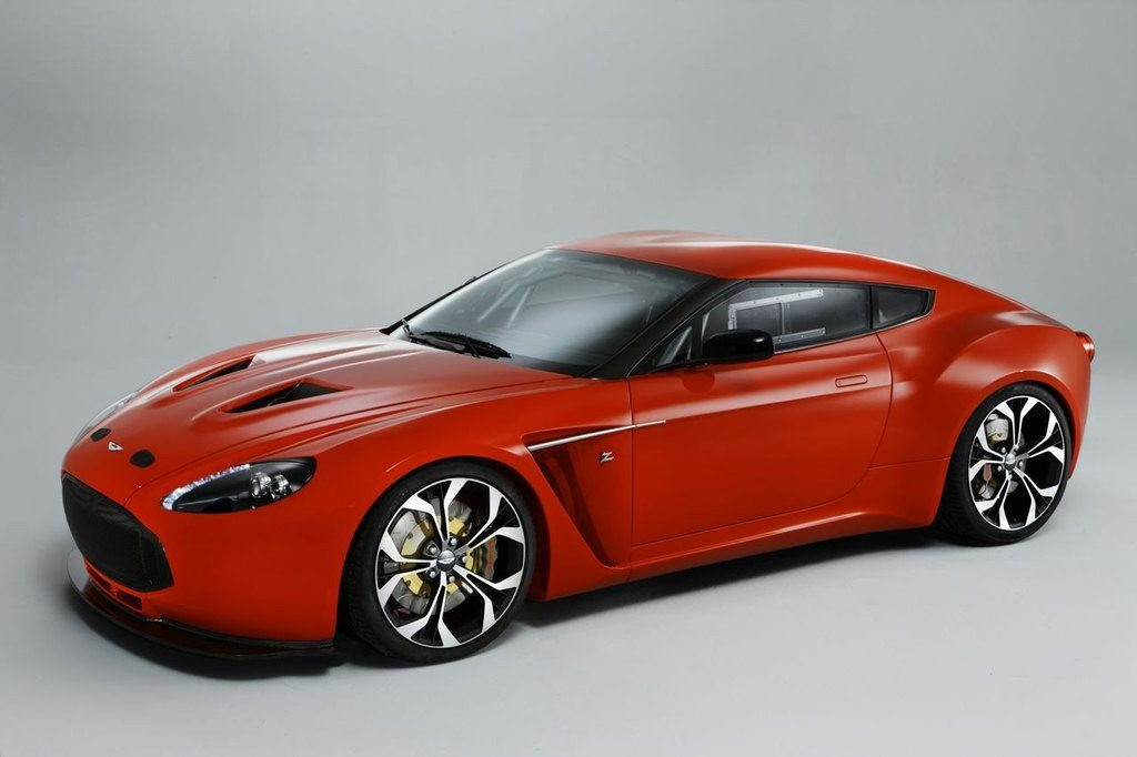 AstonMartinV12ZagatoFrontSide