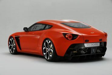 AstonMartinV12ZagatoRearView