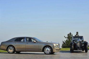 BentleyMulsannewithClassicBentley