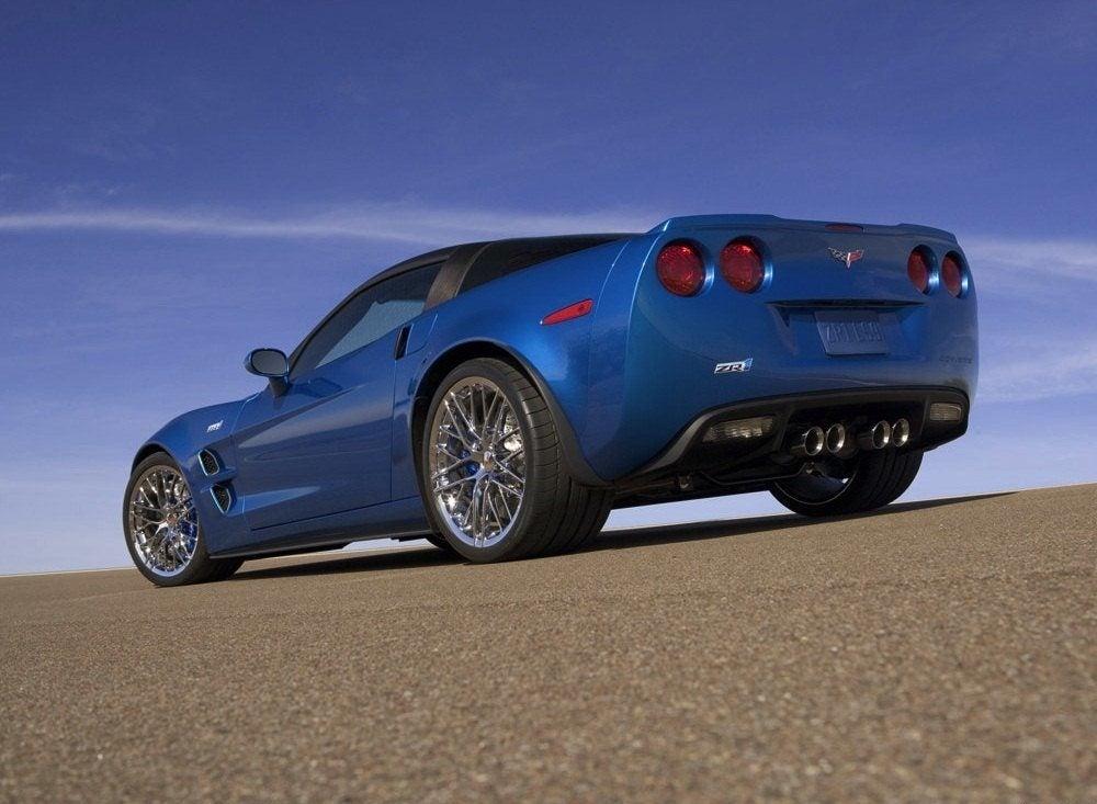 Chevrolet Corvette ZR1 Rear View