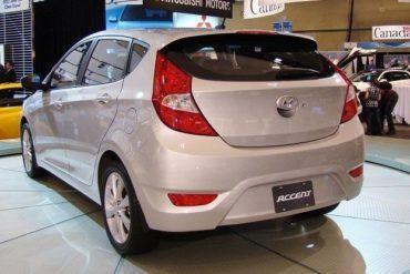Chris Nagy 2011 CIAS 2012 Hyundai Accent back