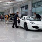 McLarenMP4 12CInProduction