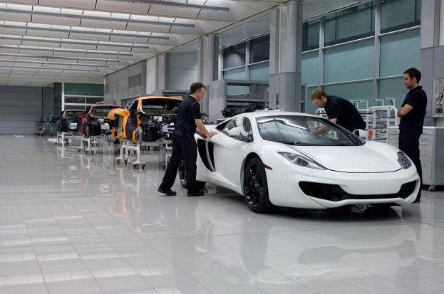 McLarenMP4 12CInProduction