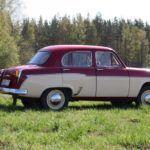 russian moskvitch restored  years  storage