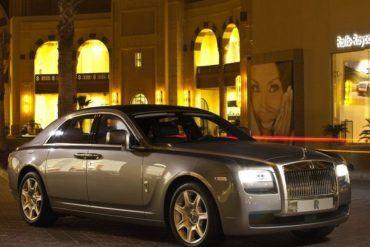 Rolls RoyceGhostFrontView