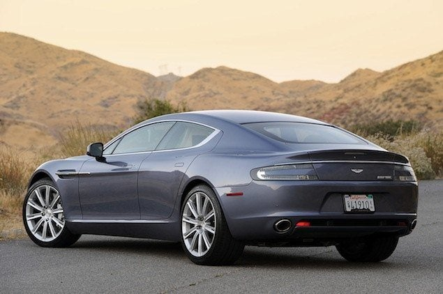aston martin rapide production cuts looming due to slow sales. Black Bedroom Furniture Sets. Home Design Ideas