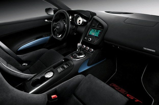 Audi R8 GT Spyder interior