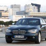BMW1 SeriesFrontAngleBlue