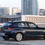 BMW1 SeriesRearViewSideBlue