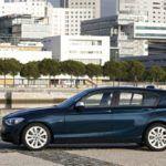 BMW1 SeriesSideViewBlue