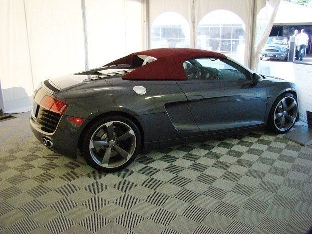 Chris Nagy 2011 Georgian College Auto Show Audi r8 spyder